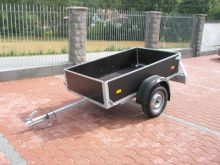 Plywood trailer without canvas