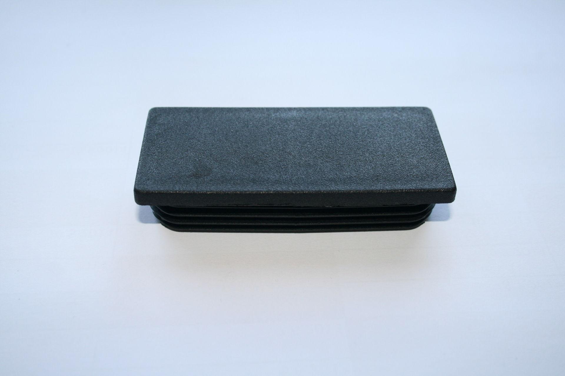Záslepka černá 90x40 mm