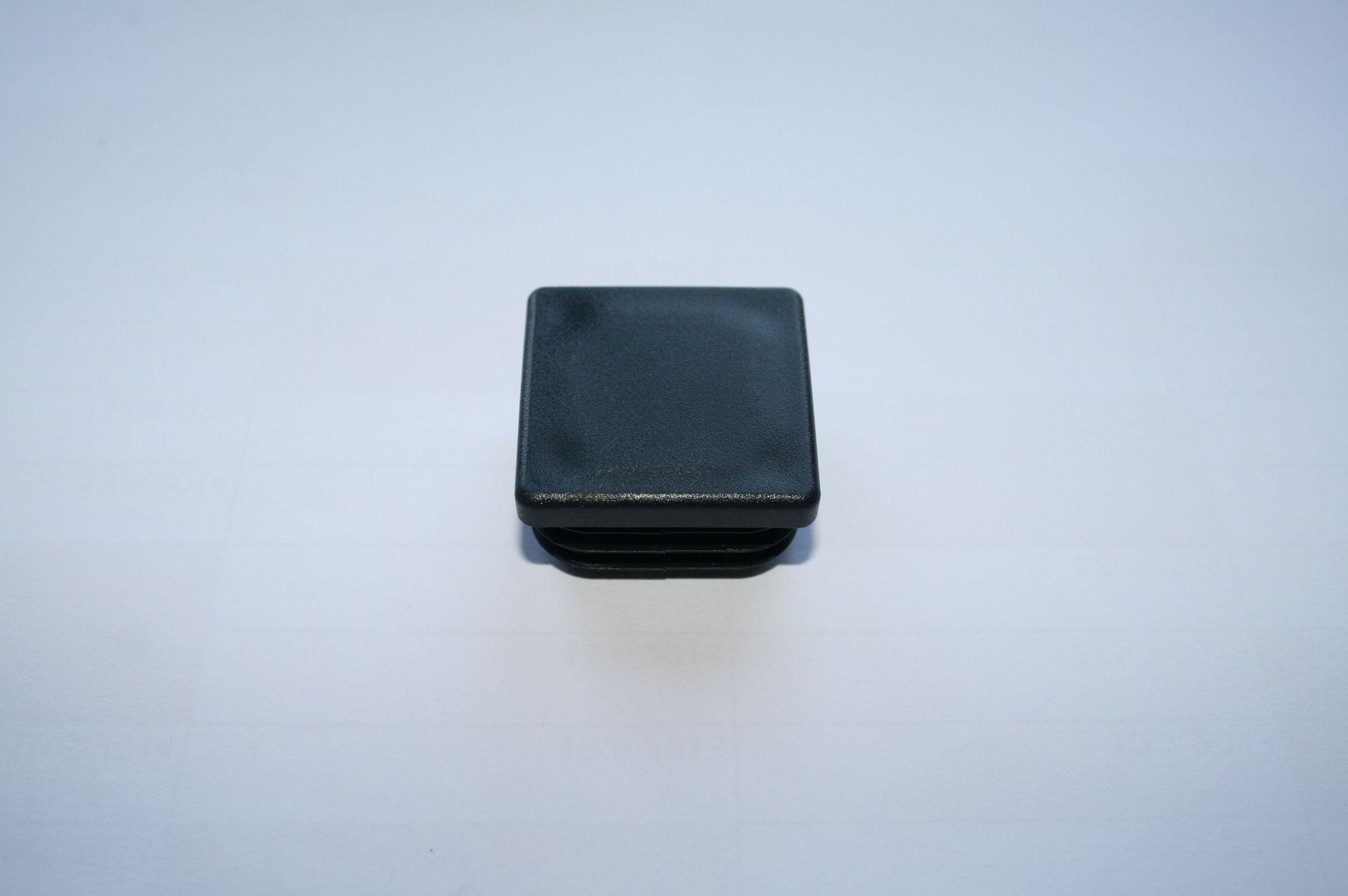 Záslepka černá 35x35 mm