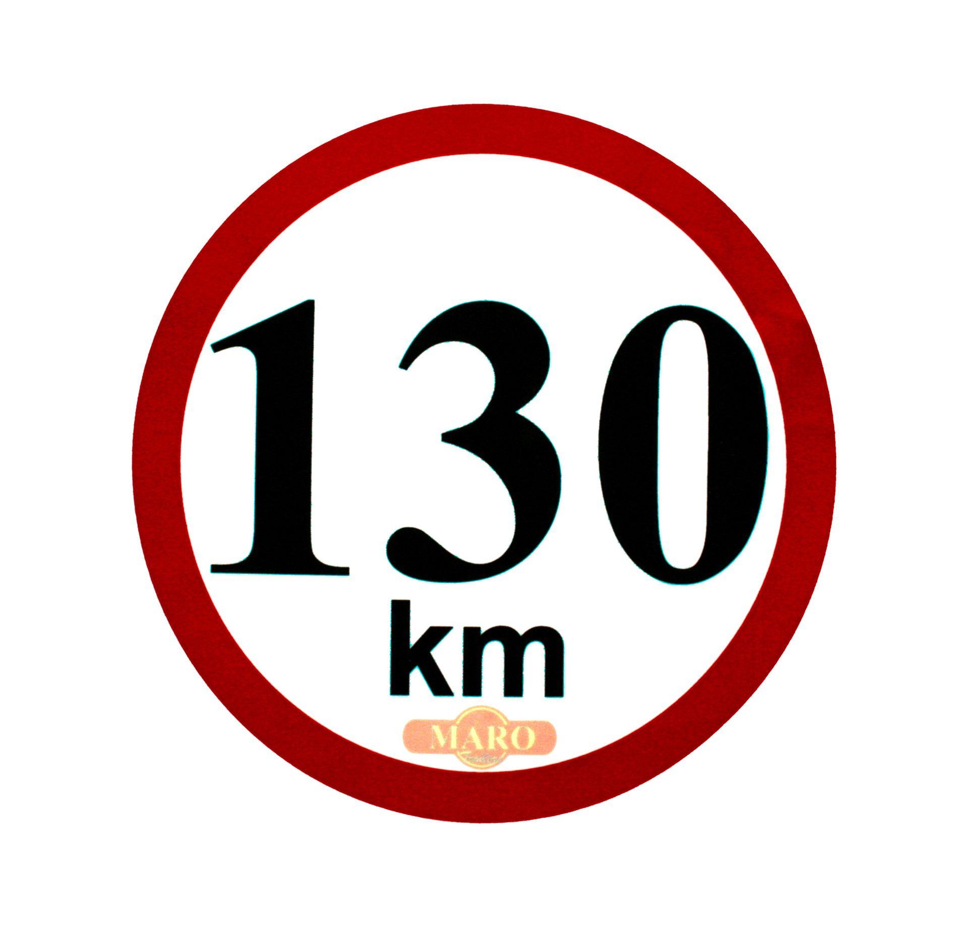 Omezení rychlosti 130 km/h
