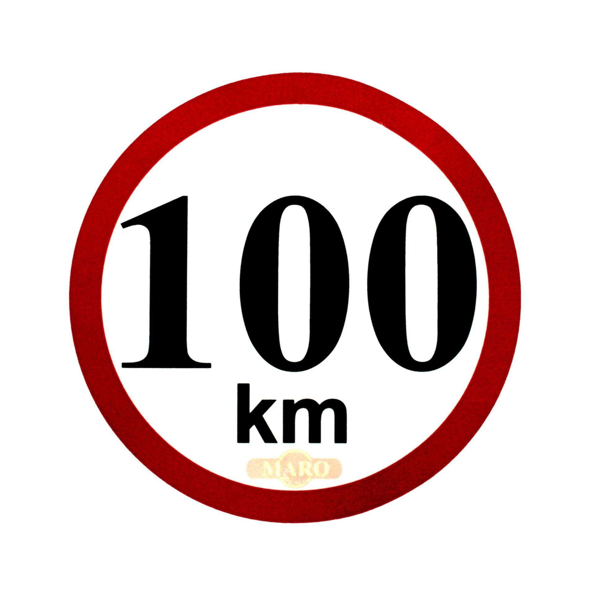 Omezení rychlosti 100 km/h