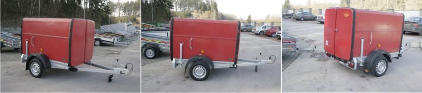 Univerzální podvozek pro hasičskou skříň