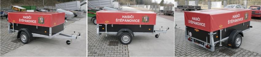 Hasiči Štěpánovice přívěs