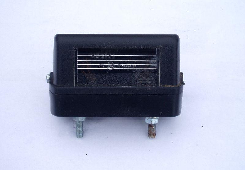 Osvětlení SPZ typ 26-1200-007