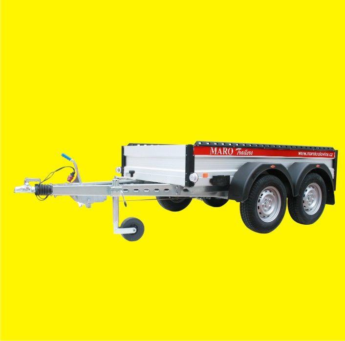 Celhliníkové valníky 2000 -2500 kg